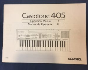 Welcome - Casio Keyboard Junkyard